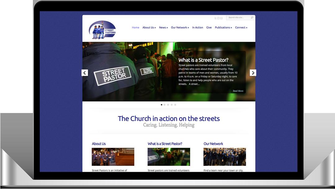 Street Pastors Website Screenshot